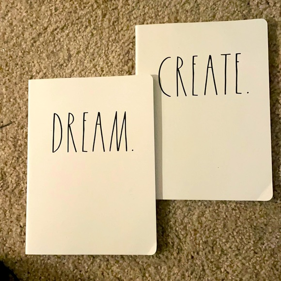 Set of two notebooks for inspiration